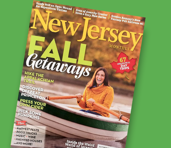 Terry Tateossian Featured In The October 2015 Issue Of New Jersey Monthly Magazine