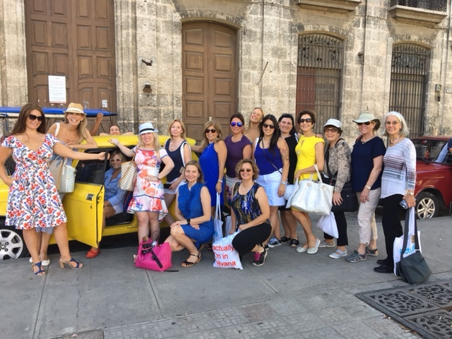LWE Retreat Attendees pose for a photo in Havana, Cuba