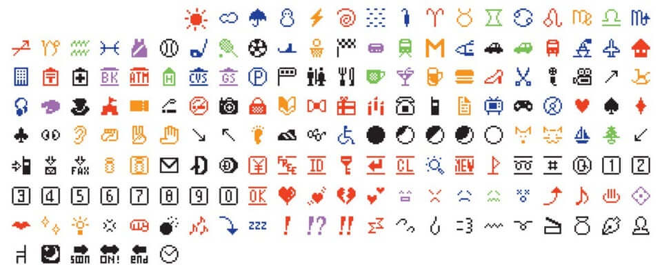 Shigetaka Kurita creates 176 emojis