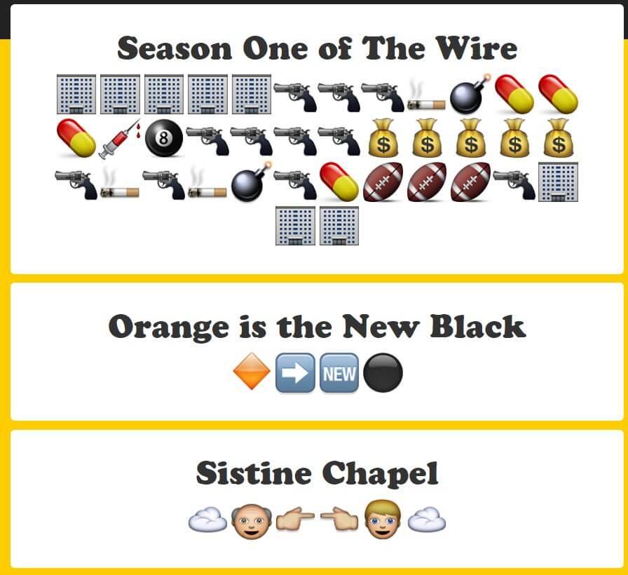 tools translates sentences into emojis