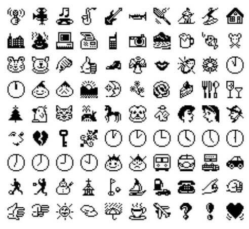 first set of emojis