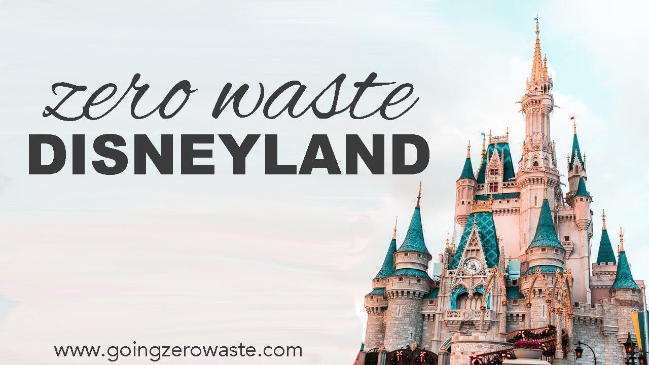 walt disney zero waste