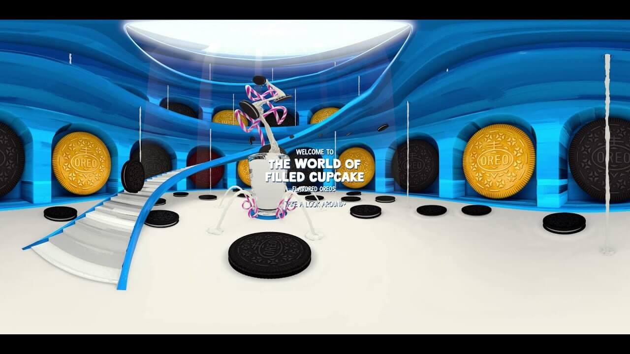 Oreo Interactive Web Design Video