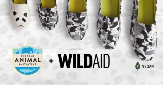 Toms Panda Shoes